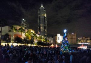 Tampa Tree Lighting Ceremony 2017 @ Curtis Hixon Waterfront Park  | Tampa | Florida | United States
