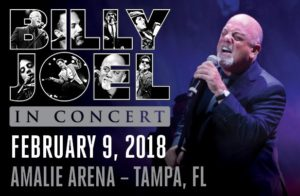 Billy Joel at Amalie Arena @ Amalie Arena